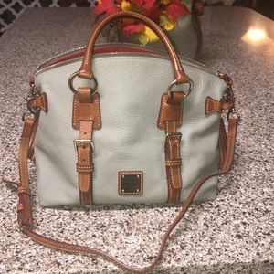 Dooney and Bourke large satchel bag